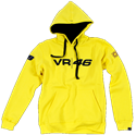 Εικόνα της VR 46 HOODED MEN YELLOW VRF2018